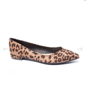 Chinese laundry leopard print flats size 6